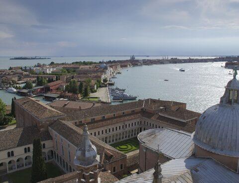 vista dell'isola dal campanile di s. Giorgio maggiore